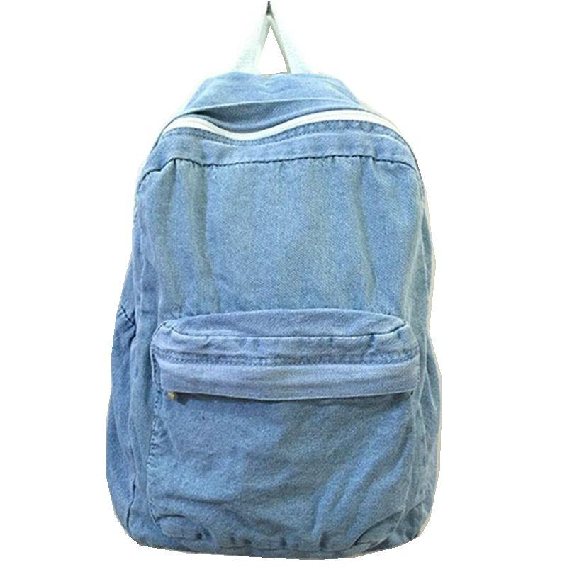 e180fb35d5 Wholesale 2015 New Fashion School Bags For Girls And Boys Travel Denim  Backpack Students Computer Backpacks For Women Rucksack Style Cheap  Backpacks Rolling ...