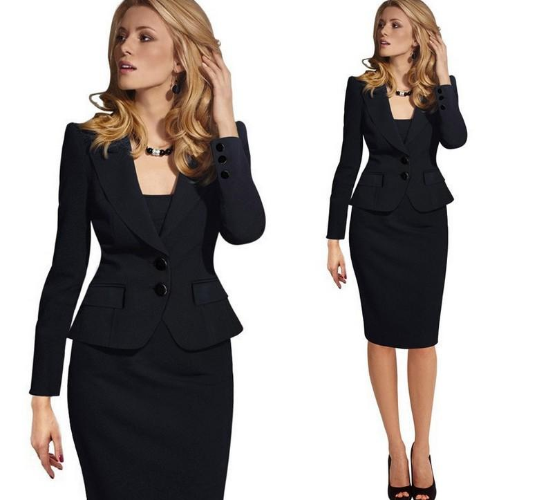 2017 2017 Hot Sale Summer Office Women Skirt Suits Business ...