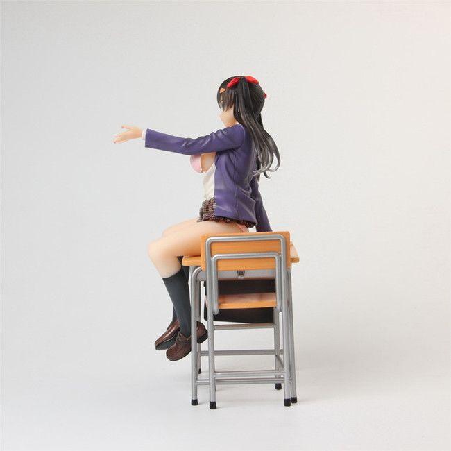 LilyToyFirm 23CM Japanese Sexy Anime Alphamax Skytube Saitom Ef Zero Figures Action & Toy Figures PVC Model Collection For Christmas Gift