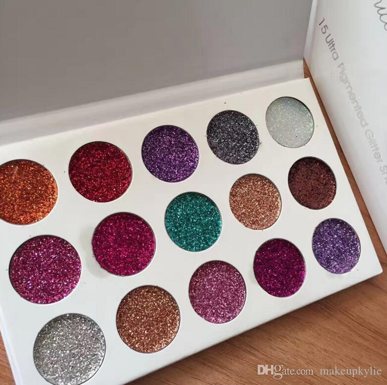 new brand glamierre unicorn glitter eyeshadow palette makeup eye