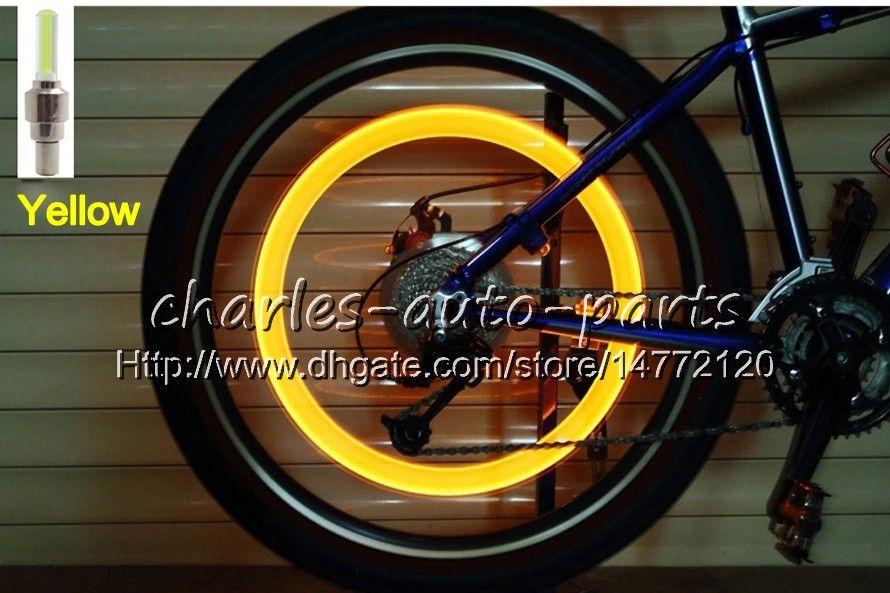 1USD LED 플래시 타이어 라이트 자전거 휠 밸브 모자 라이트 자동차 자전거 자전거 오토바이 오토바이 LED 휠 타이어 램프 자동차 라이트 9 색상 판매