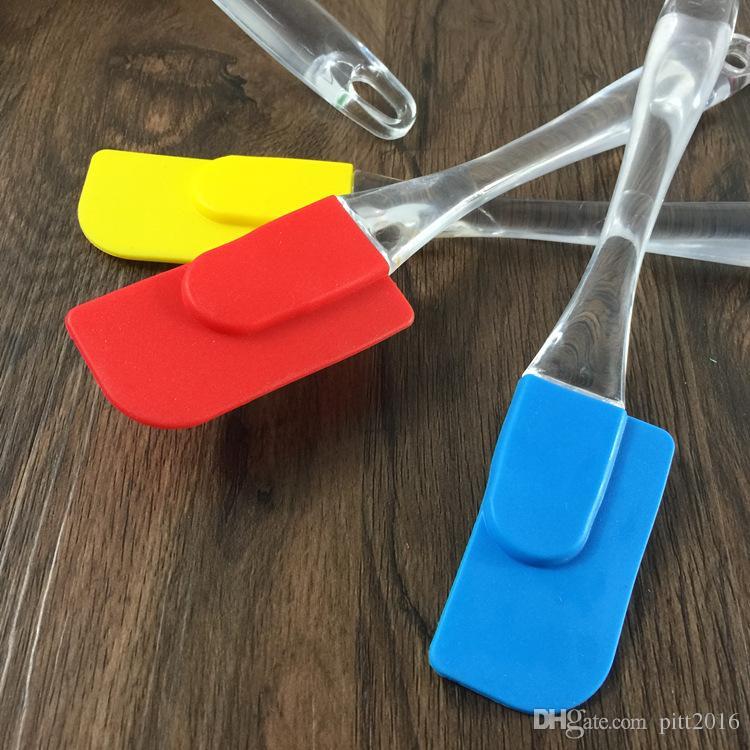 Hot 300 stücke backenwerkzeuge küche kuchen messer buttermesser umweltschutz silikon butter spreader DHL KLQ0100 Freies Verschiffen