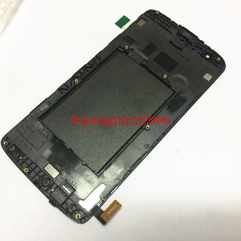 par DHL EMS complète originale pour LG Assemblée K8 K350N Affichage à l'écran LCD de remplacement d'écran tactile Digitizer