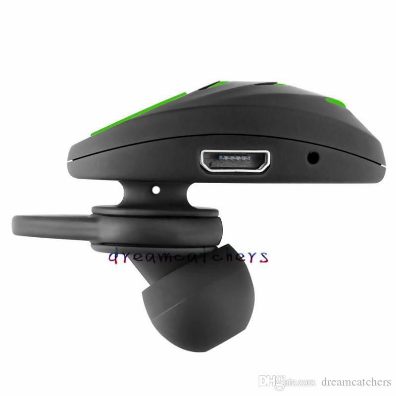 Mini A3 Écouteur sans fil Bluetooth casque stéréo dans l'oreille Sport sans main avec micro casque invisible pour iPhone Samsung Smartphone