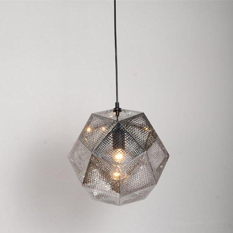 Tom Dixon Led Pendent Light Etch Shade Pendant Light Modern Pendant