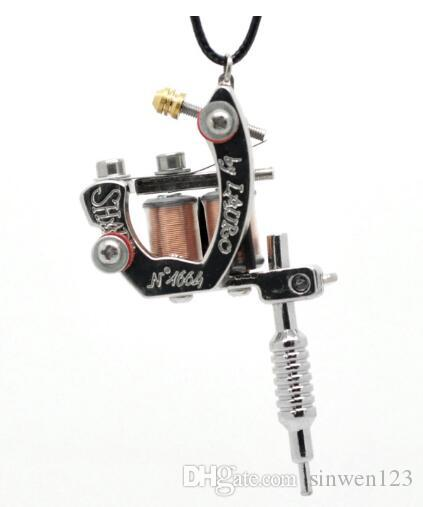 Wholesale lasperal gunmetal mini tattoo machine necklace punk style wholesale lasperal gunmetal mini tattoo machine necklace punk style pendant necklace for women men hip hop rock jewelry gifts pendants gold necklace for aloadofball Gallery