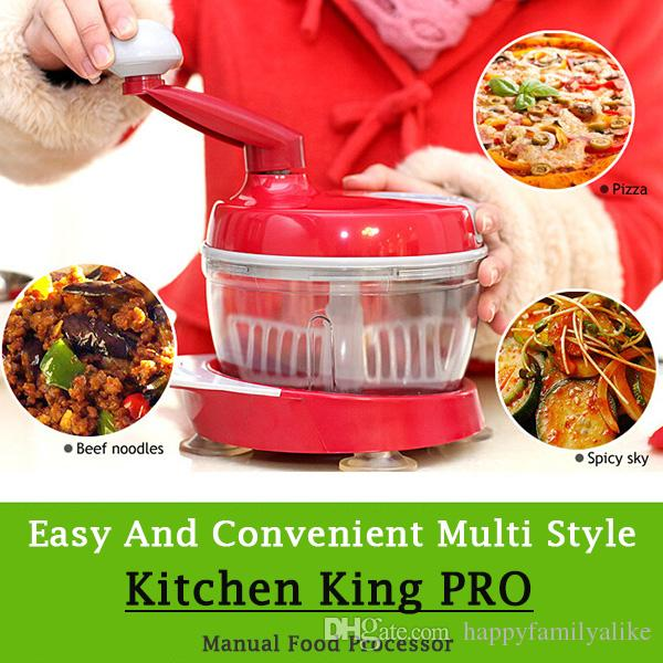 2018 Manual Multi Functional Food Processor Kitchen Food Preparation  Station Kitchen King Pro Vegetable Cutter/ Cracker Meat Grinder Cooking Mac  From ...