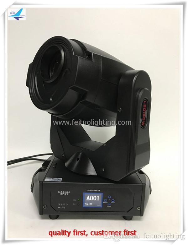 2Xlot 180 Вт движущиеся прожекторы головного света dj светодиодные фонари dmx эффект гобо светодиодные движущиеся прожекторы