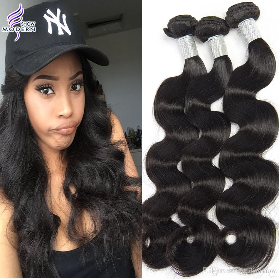 Cheap peruvian body wave human hair weave 4 bundles modern show cheap peruvian body wave human hair weave 4 bundles modern show hair products unprocessed virgin wavy hair natural black color can be permed black diamond pmusecretfo Images