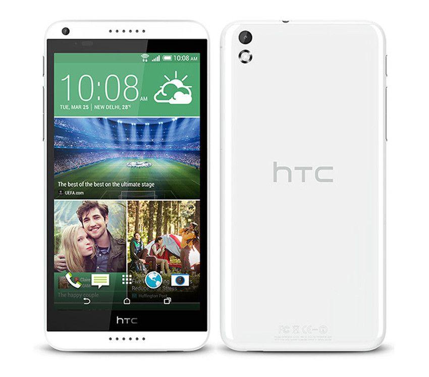 Refurbished Original HTC Desire 816 5.5 inch Quad Core 1.5GB RAM 8GB ROM 13MP Camera 3G Unlocked Android Smart Cell Phone Free DHL