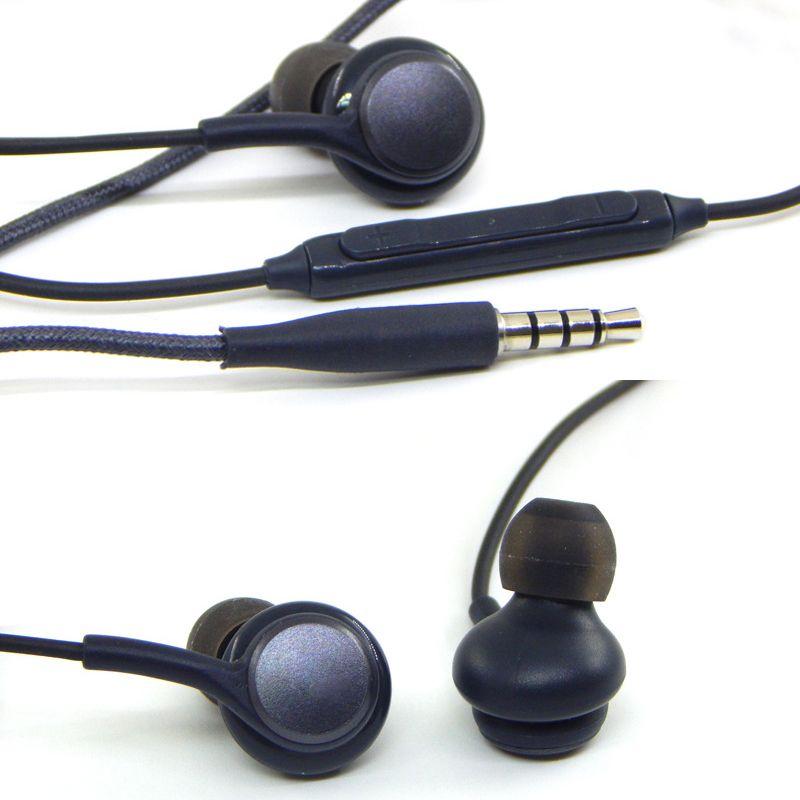 S8 Casque Casque Pour Samsung Galaxy S8 Plus 3.5mm casque Véritable Noir In-Ear Écouteurs EO-IG955BSEGWW Power Bass Mains Libres Écouteurs