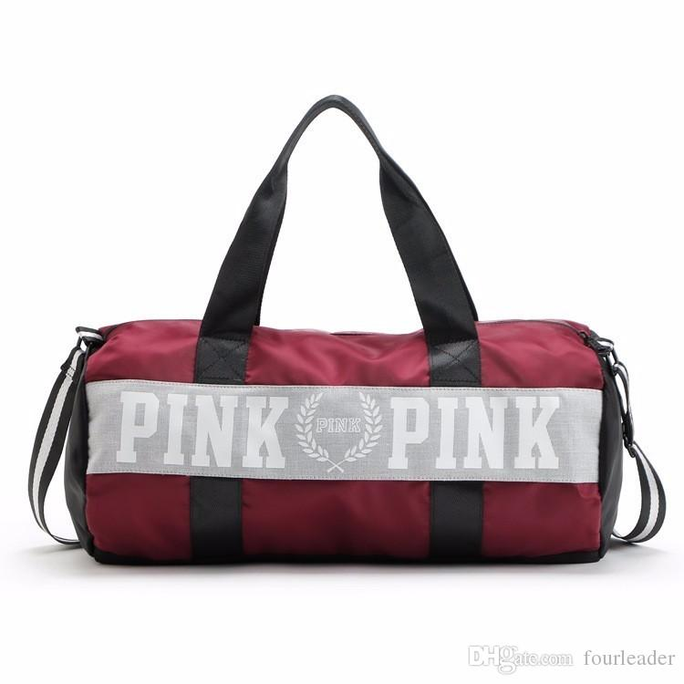 Vs Love Pink Duffel Bags Handbags Large Capacity Travel Bag ...