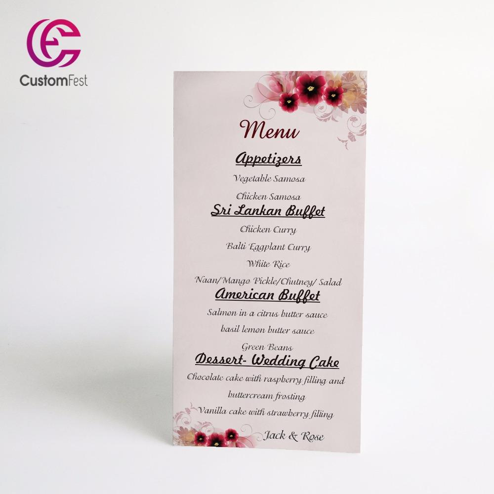 Wholesale personalized menu red flower menu whole set available wholesale personalized menu red flower menu whole set available mu007 set lot set red cheap set lot online with 4736piece on stunning88s store mightylinksfo