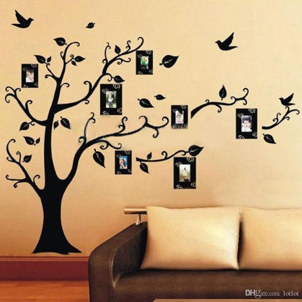 60*90cm Photo Tree Wall Stickers Removable Decal Home Decor Diy Art ...