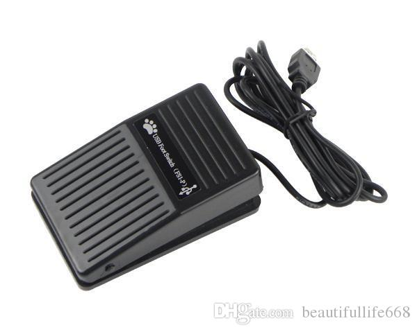 PC USB Foot Switch Pedal Control Keyboard Mouse for Windows 2000/XP/Vista/7 Linux with high quality