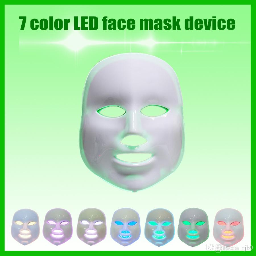 The latest version 3D light therapy skin mask device /color light whitening stained acne mask machine