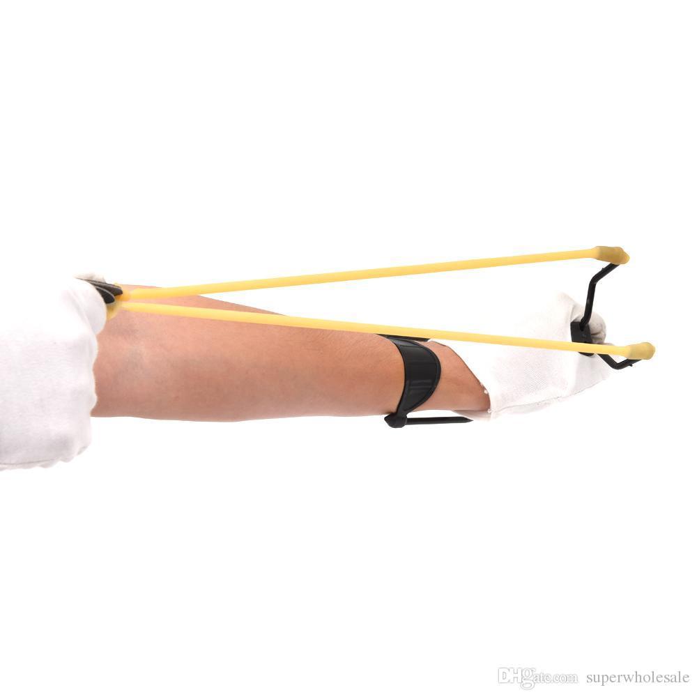 الأربطة المطاطية للطي المعصم المقلاع دعم المعصم للطي الذراع هدفين عالية السرعة المنجنيق الرياضة outdoors الصيد الصيد الهدف الممارسة