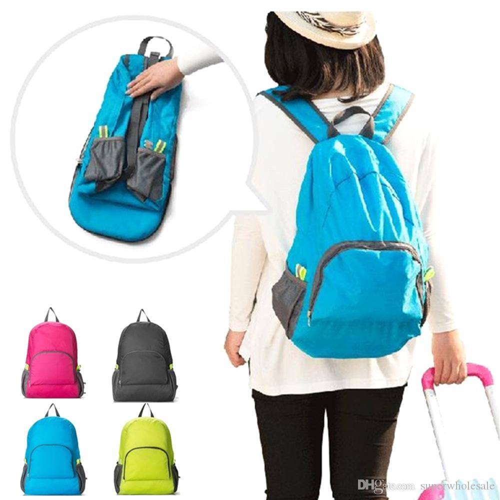 d8e9cf533770 2019 Lightweight Packable Backpack Hiking Daypack Foldable Travel Backpack  Most Durable Light Backpacks For Camping Hiking Riding From Superwholesale
