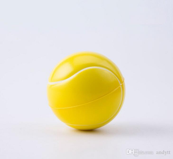 새로운 압력 공 장난감 축구 농구 우레탄 공 6.3cm 고체 압력 공 어린이 감압 장난감 스폰지 공 GC11
