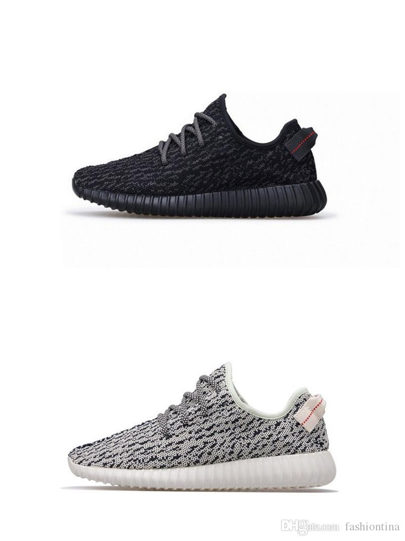 pretty nice 0c458 e581e 2017 350 Boost Pirate Black Moonrock Oxford Tan Turtle Zapatos Ocasionales De  La Paloma 350 Boost Running Shoes Sneaker Sneakers Gym Shoes Por  Fashiontina, ...