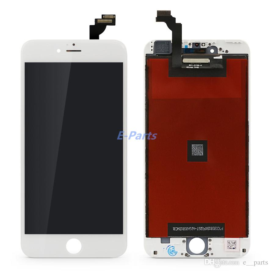For iPhone 6 Plus LCD 5.5 inch LCD Display Touch Digitizer Complete Screen with Frame Full Assembly Replacement