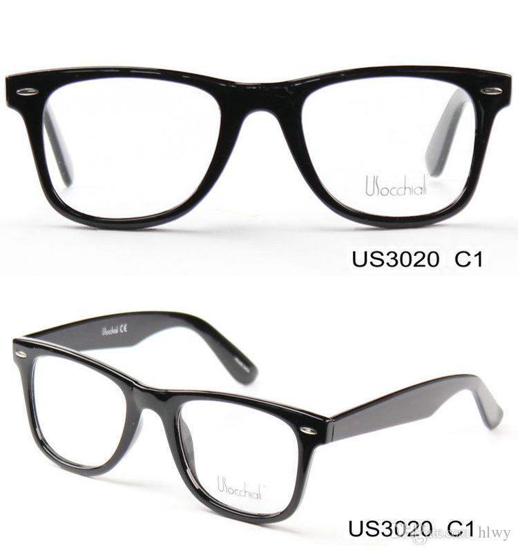 Plastic Flat Glass Frame Propionic Acid Female Optical Glasses Box ...