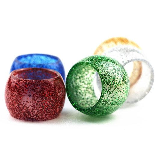 Shiny Resin Tube Replacement Caps for Glass Prince TFV8 Baby Big Baby Tank Cleito 120 MELO 3 III mini The Troll RTA Drip Tip DHL