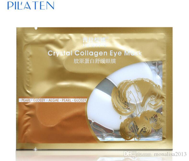 PILATEN коллаген Кристалл маски для глаз антивозрастной анти-отечность темный круг против морщин влаги уход за глазами женщины выступает подарки на День Рождения MZ001