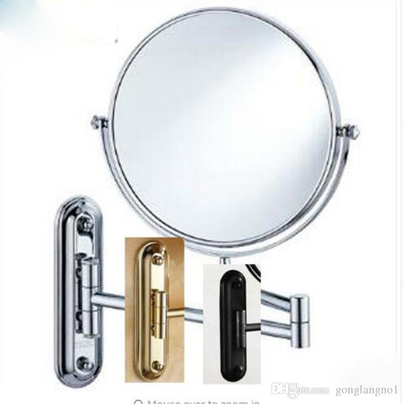 Popular Best 8 Black Antique Bronze Chrome Golden Makeup Mirror Wall Mounted Bathroom Mirror Double Side Magnifying Makeup Mirror Under $63 32 Pictures - Simple Elegant magnifying makeup mirror