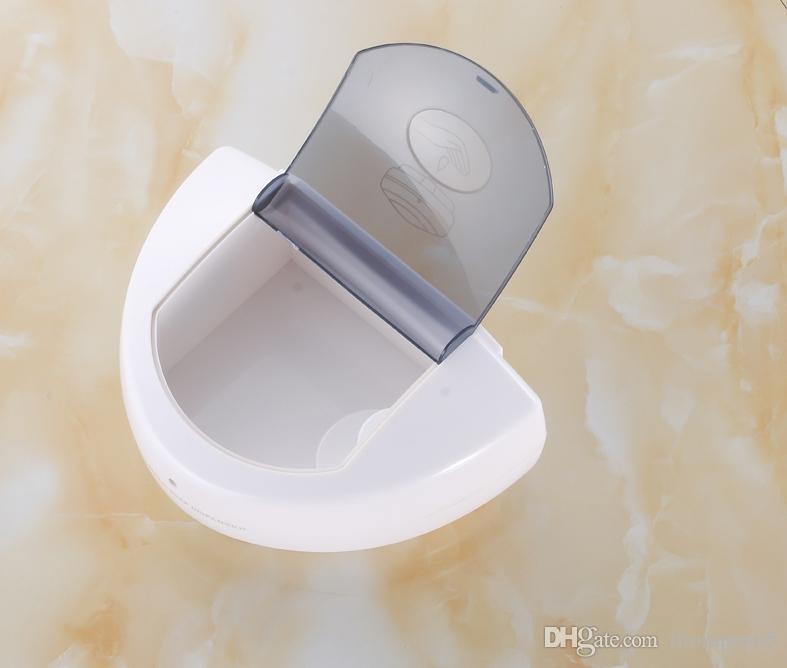 500 미리리터 욕실 벽 매달려 자동 비누 디스펜서 유도 자동 적외선 터치리스 액체 소독제 호텔 가정용 고급 비누 상자
