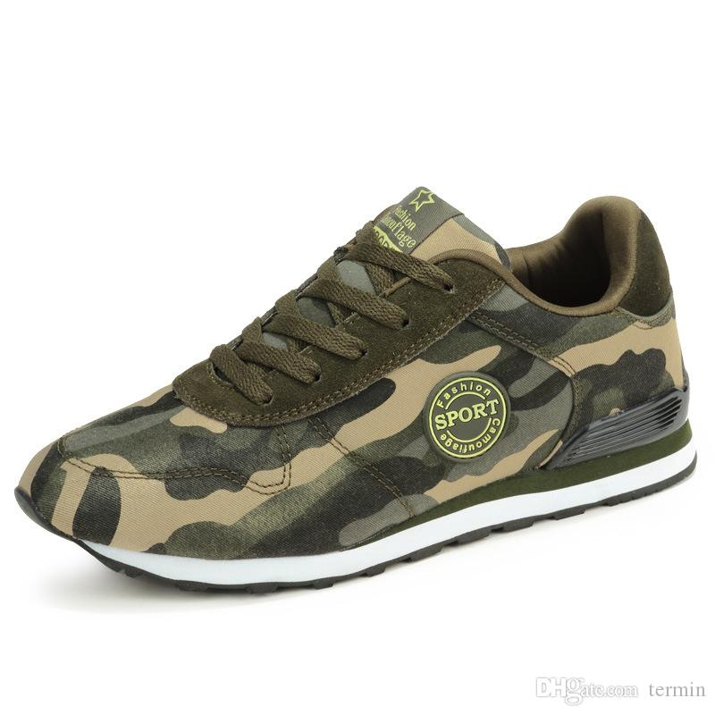 3eeb32bb224 Womans Canvas Shoes Camouflage Military Casual Shoes Spring Autumn  Breathable Camo Flats Womans Fashion Lovers. MQSS 001 Running Shoes Shoes  Online From ...