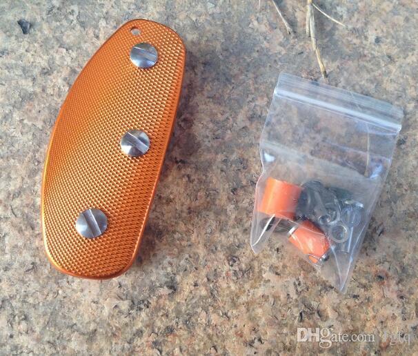 Outdoor EDC Gadgets Ultra Light Aluminum Key Holder Key Clamp Lightweight Key Wallets Men Keychain Case Edc Pocket Tool