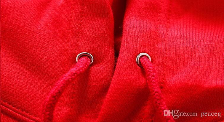 Sweats à capuche drapeau gallois Pays qualité travailleur pulls molletonnés Vêtements en polaire Pullover coat Veste d'extérieur en coton Sweatshirts brossés
