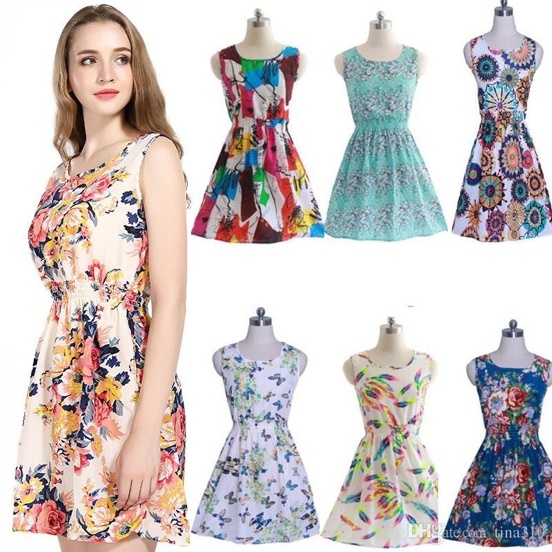 f3a1a72bd6773 2017 Newest fashion Women Casual Dress Plus Size Cheap China Dress 19  Designs Women Clothing Fashion Sleeveless Summe Dress BAB43