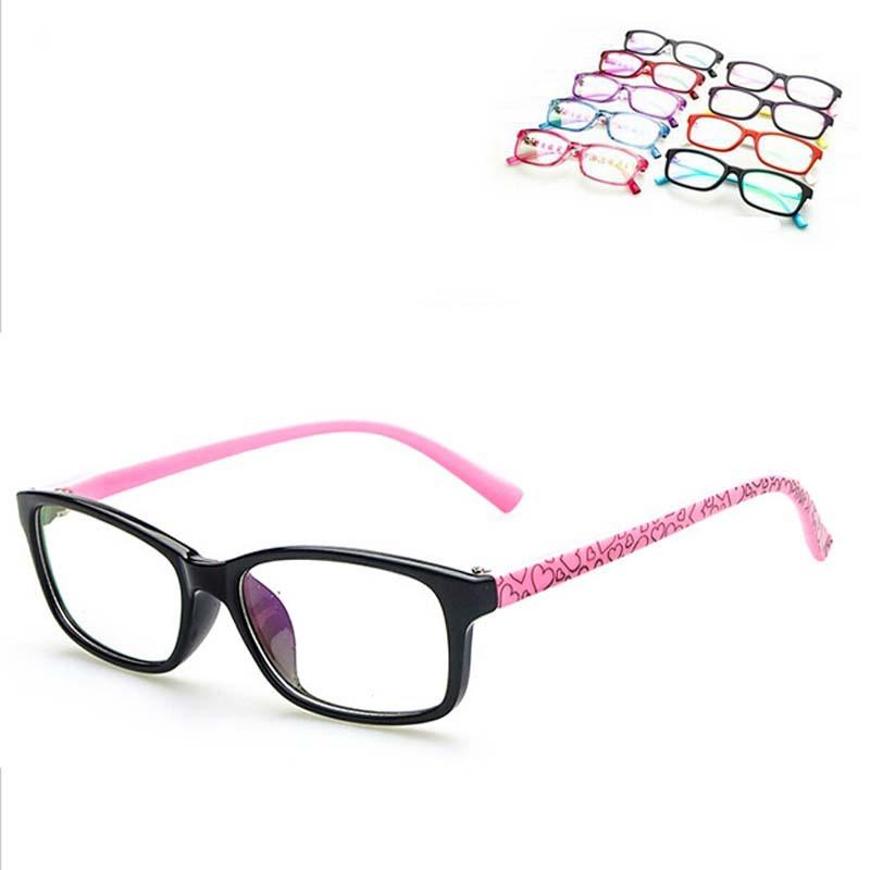 b3833bc2859b 2019 Wholesale Fashion Cute Eyeglasses Frame 6 16 Years Old Child Myopia Optical  Glasses Frame Boys Girls Computer Glasses Oculos De Grau From Heathere