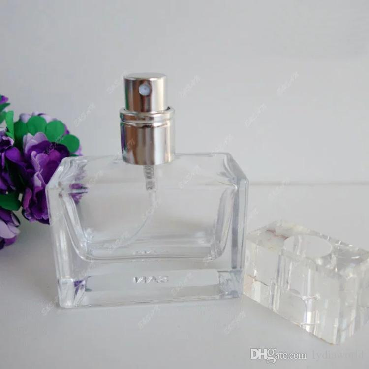 Sale New Transparent Glass Spray Bottle 30ML Refillable Perfume ... cb826be3eafa