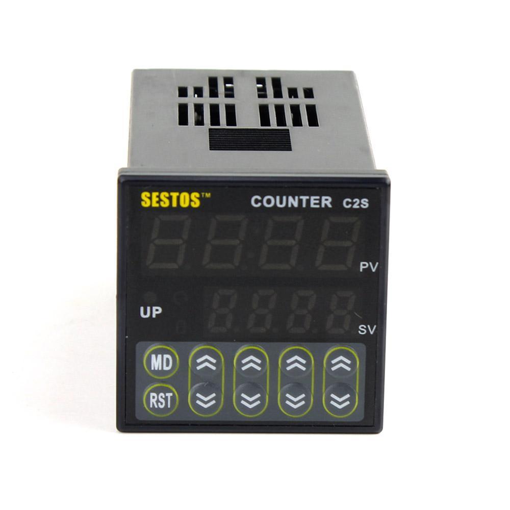 2018 Wholesale Sestos 12 24v 6 Preset Digital Preset Scale Counter