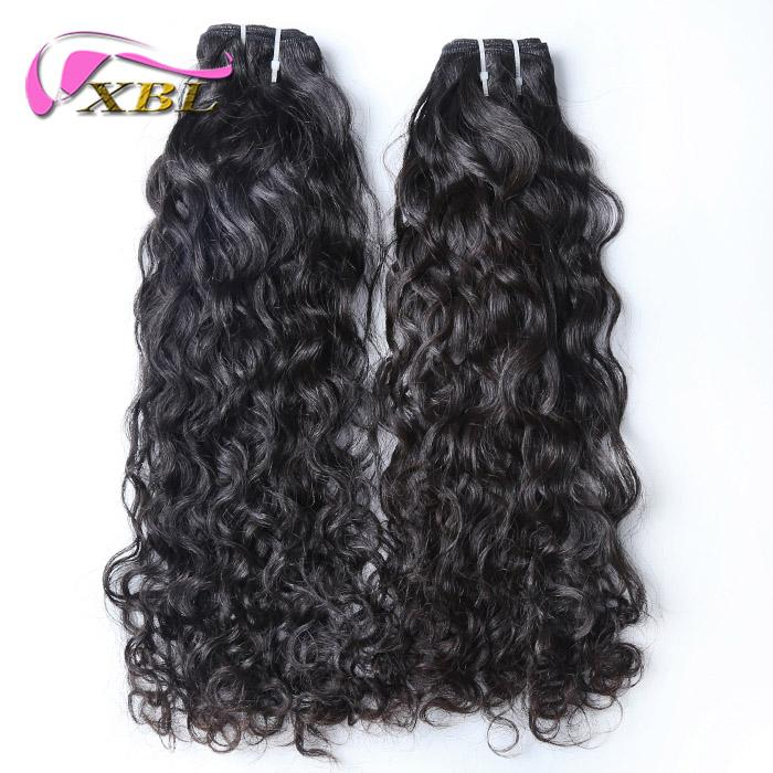 xblhair water wave virgin human hair extensions sew in hair extensions indian virgin human hair bundles