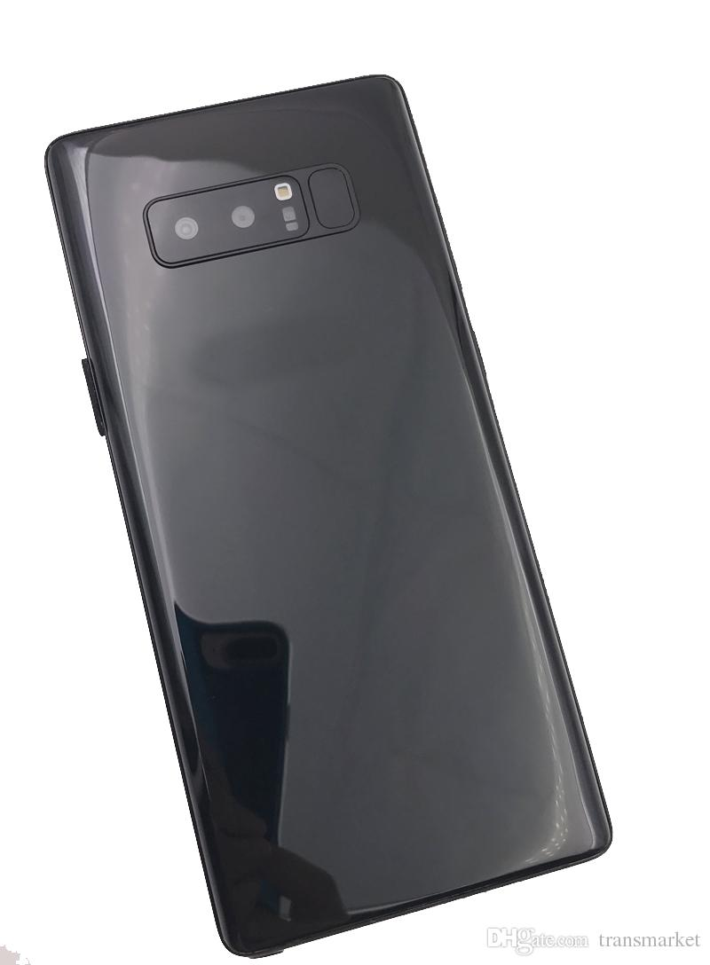 Note8 16GB ROm 1GBram Quad Core Note 8 telefono Mtk6580 Dual Sim card Big Size Vendita calda Phone 6.2 pollici blu Black Gold iIN stock 8MP Camera phon