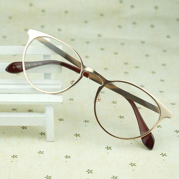4c213c504ca Wholesale- JIE.B Vintage Metal Optical Glasses Frames Women Alloy Clear  Lens Frames Eyeglasses Eyewear Spectacles UNISEX BLACK GOLD Gafas Frame  Eyeglasses ...