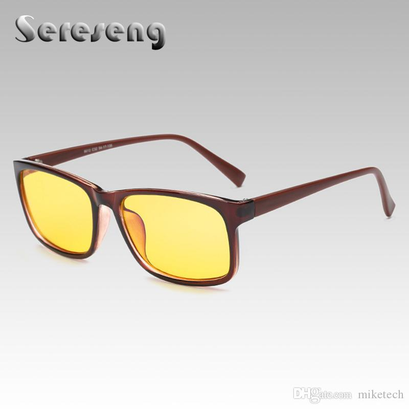 d1c53bfae1 Men Eyeglasses Frame Computer Clear Lens Designer Optical Brand ...
