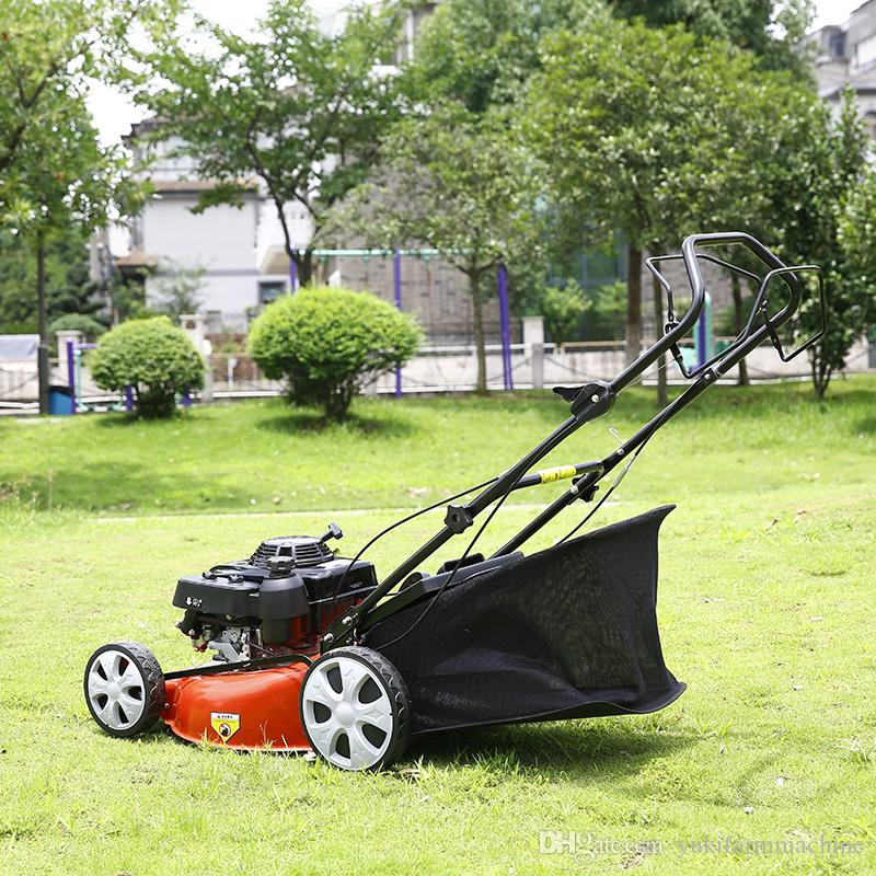 20-inch Lawn Mower Petrol Lawnmower Self-propelled Lawn Mower Tractor Grass Mowing Machine Grass Trimmer Cutter