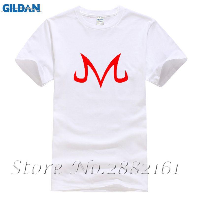 Men High Quality Tees Majin Buu Symbol Anime Dragonball Z 3d T Shirt