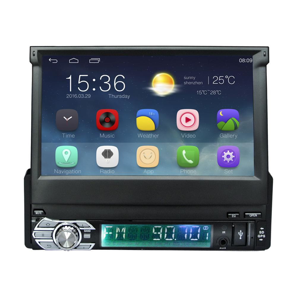 android 5 1 universal 1 din car dvd video player gps. Black Bedroom Furniture Sets. Home Design Ideas