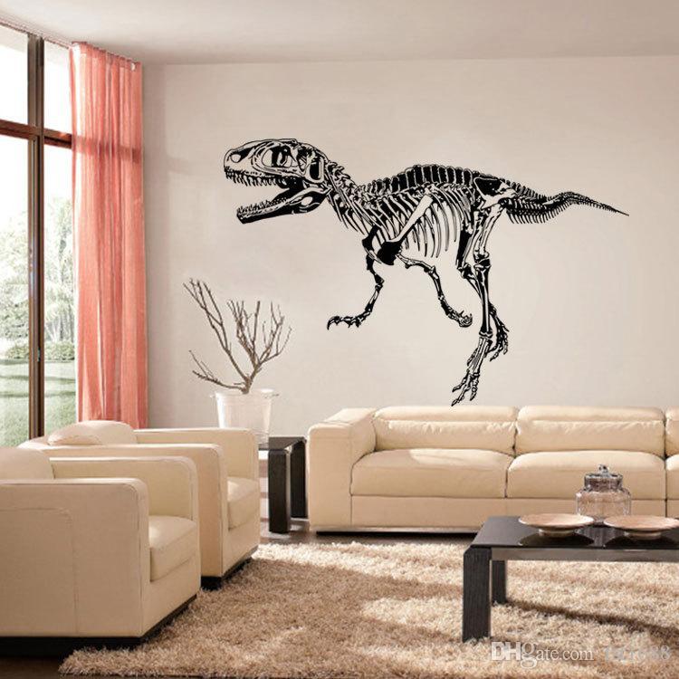 9544 Dinosaurios Aborígenes Etiqueta de La Pared Animal Dinosaurio Silueta Arte Mural Tatuajes de Pared Animales Arte de La Pared Mural Cartel decoración del hogar