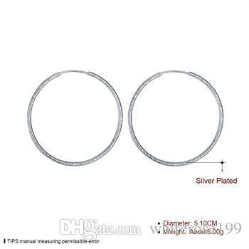 도매 - 최저 가격 크리스마스 선물 925 스털링 실버 패션 귀걸이 yE044