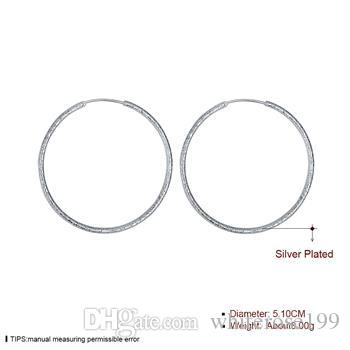 Partihandel - lägsta pris julklapp 925 sterling silver mode örhängen ye044