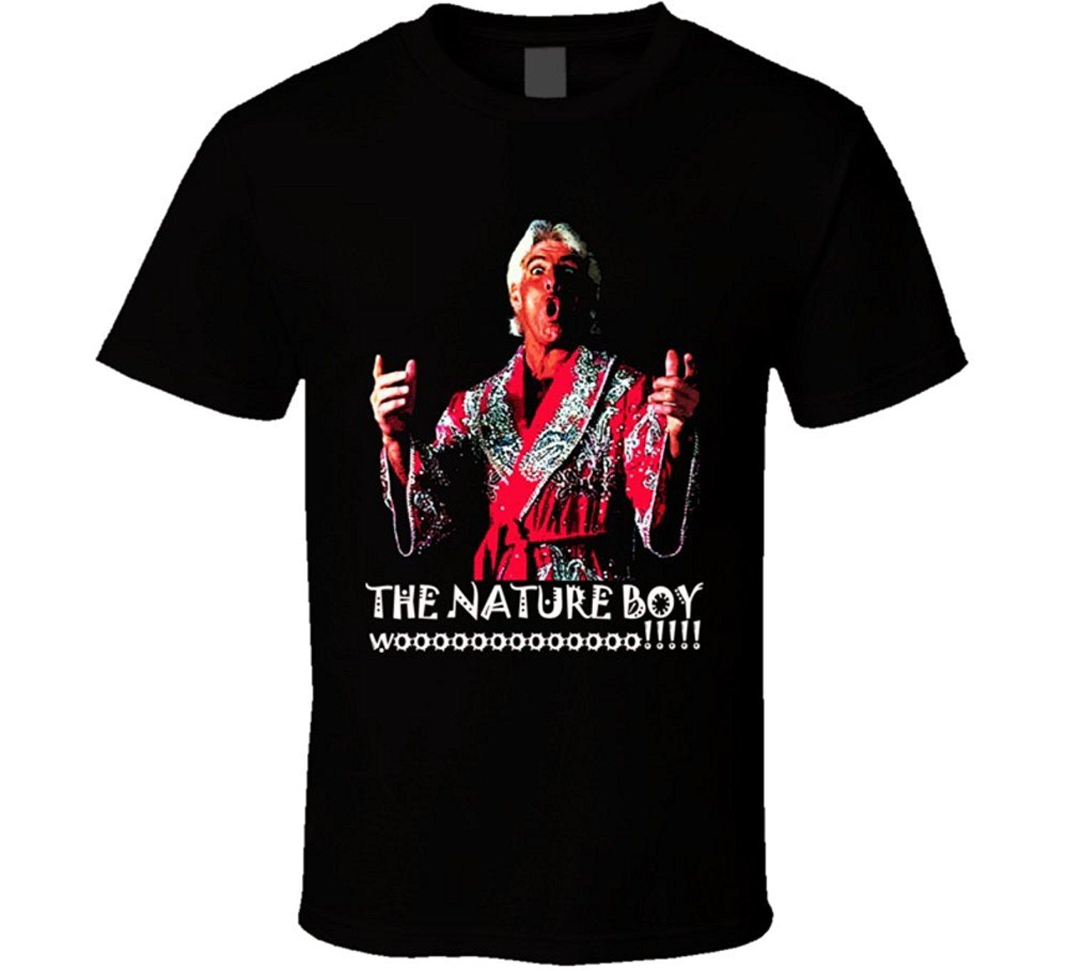 57a5d1831 Rick Flair WOOO Wrestling T Shirt Tee Shirt Design Mens Shirt From  Beidhgate05, $11.01| DHgate.Com