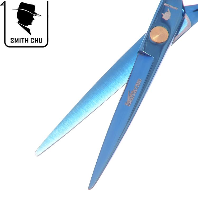 5.5Inch SMITH CHU New Arrival Barber Scissors Professional Cutting Scissors Hair Shears Hairdressing Barber Razor JP440C Hot Sell, LZS0018