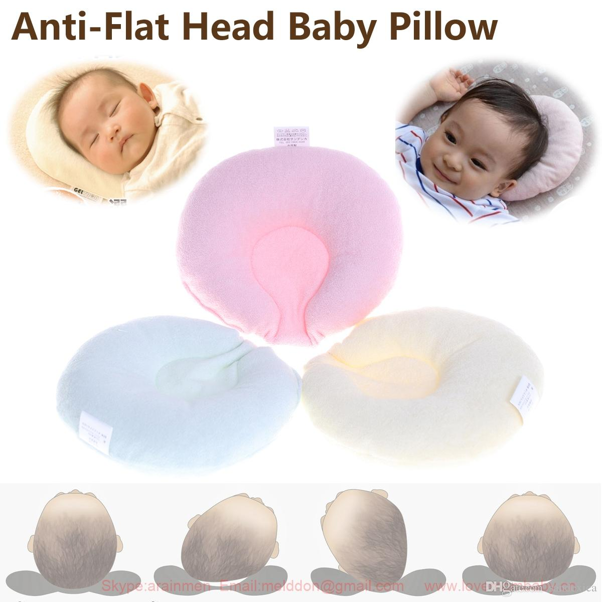 sandexica newborn infant baby pillow support cushion anti flat head soft cotton toddler blankets. Black Bedroom Furniture Sets. Home Design Ideas